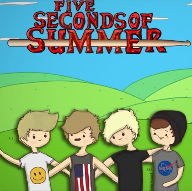 5sos Drawing 5 Seconds Of Summer Pinterest