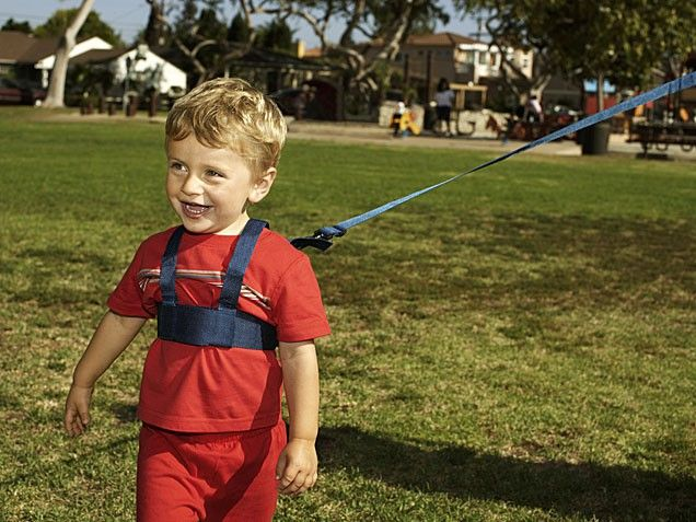 """Poll: Are Child Harnesses a Smart Parenting Tool -- or an Offensive Leash?"" (iVillage, May 25, 2011)"