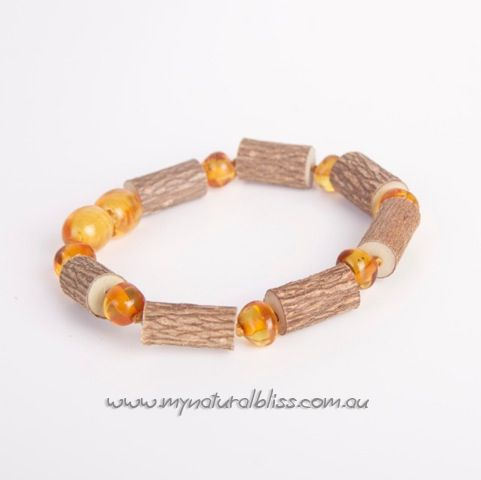 Hazelwood & Genuine Baltic Amber - Natural healing alternatives from My Natural Bliss ~ www.mynaturalbliss.com.au