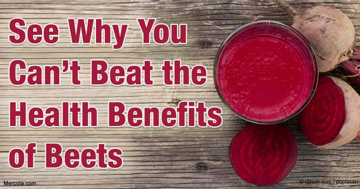 Beets contain an impressive number of advantages, health-wise. Know more about beets' health benefits to your overall health. http://articles.mercola.com/sites/articles/archive/2016/04/18/benefits-beets.aspx