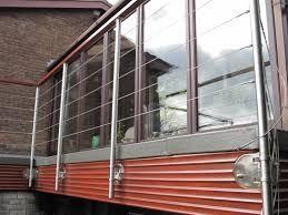Image result for side mounted glass balustrade