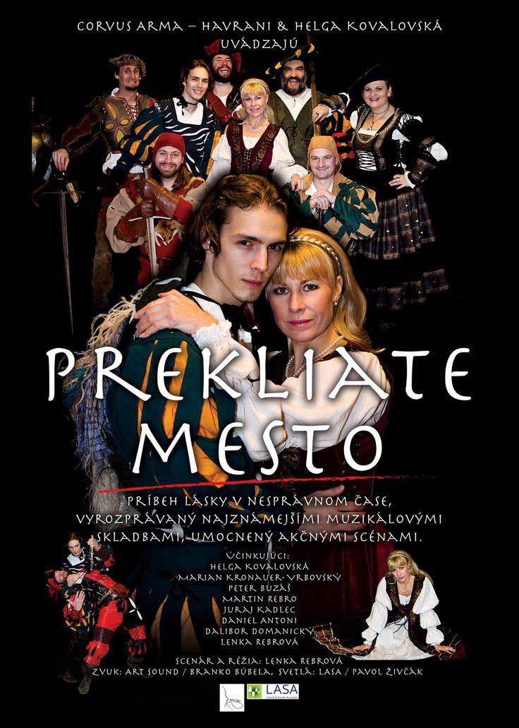Už v nedeľu o 18:00 hod. v kultúrnom dome Devínska Nová Ves ozvučujeme premiéru muzikálu Prekliate mesto.