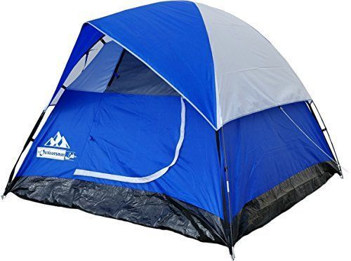 OutdoorsmanLab 3 Person Tent For Camping, Backpacking, Mountaineering -lightweight, Easy Setup Water-resistant Dome Family Camping Tent w/ Great Storage Space. For product & price info go to:  https://all4hiking.com/products/outdoorsmanlab-3-person-tent-f