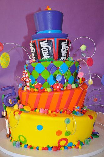 "Willy Wonka Birthday Cakes | of 71: Willy Wonka and the Chocolate Factory / Birthday ""Willy Wonka ..."