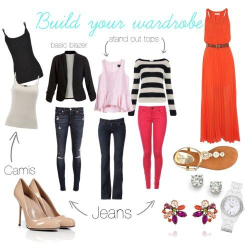 How to build a wardrobe: