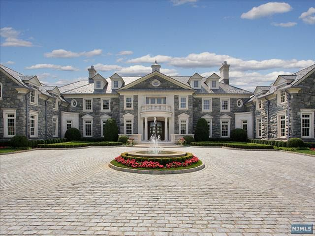 9 best stone mansion images on pinterest stone mansion for Contemporary houses for sale in nj