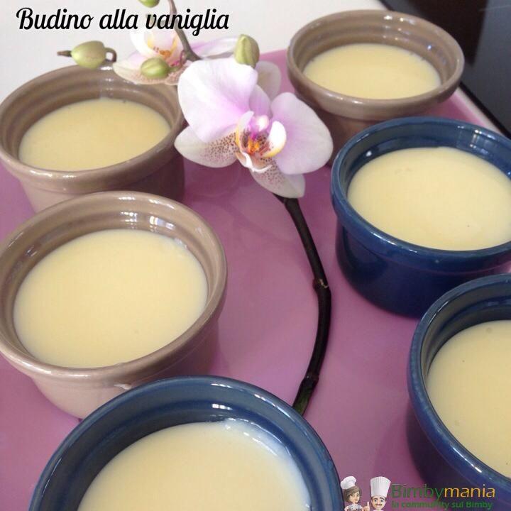 Budino alla vaniglia Bimby, un ottimo dessert al cucchiaio per grandi e piccini! Ingredienti per 6 budini: 600 ml di latte, 2 uova intere, 1 stecca di...
