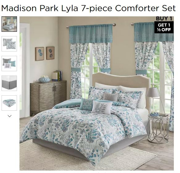 Comforter Sets, Madison Park Bedding Lyla