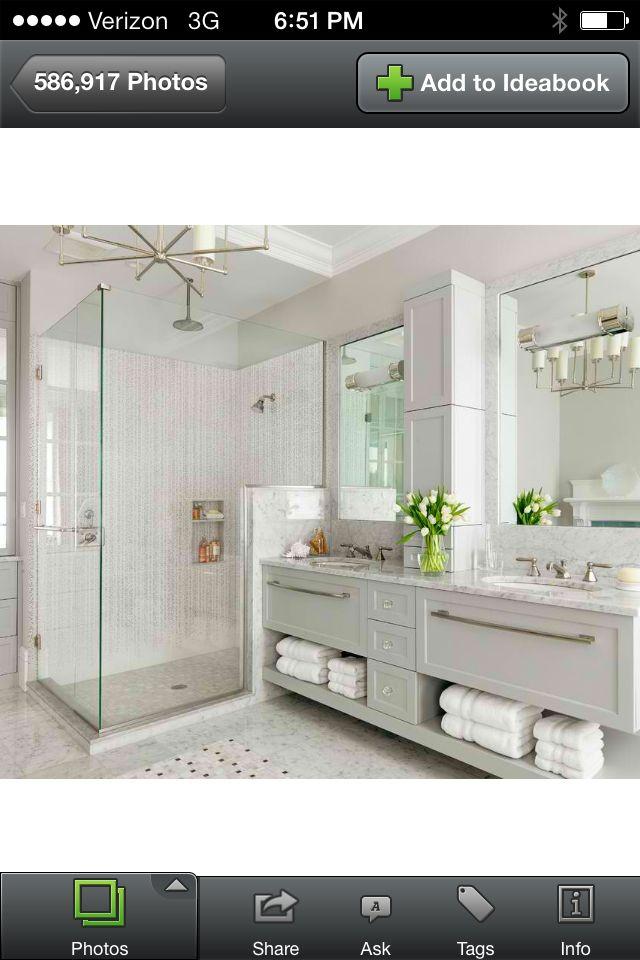 cabinet bathroom pinterest bath  master bathrooms