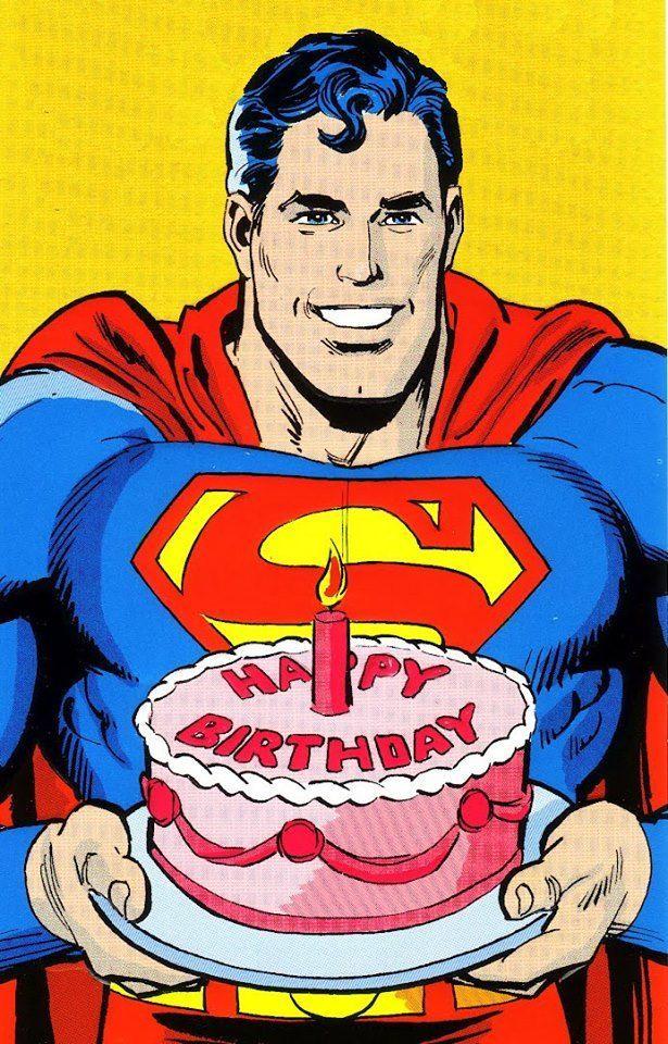 Awe Inspiring Superman Happy Birthday Avec Images Voeux Joyeux Funny Birthday Cards Online Ioscodamsfinfo