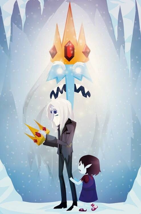 Adventure Time #artwork: Simon and Marcy
