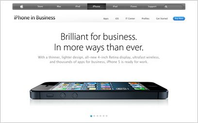 Apple (United Kingdom) - iPhone in Business