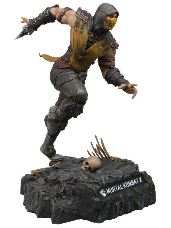 Mortal Kombat X Scorpion Statue Action Figure Collector S Edition