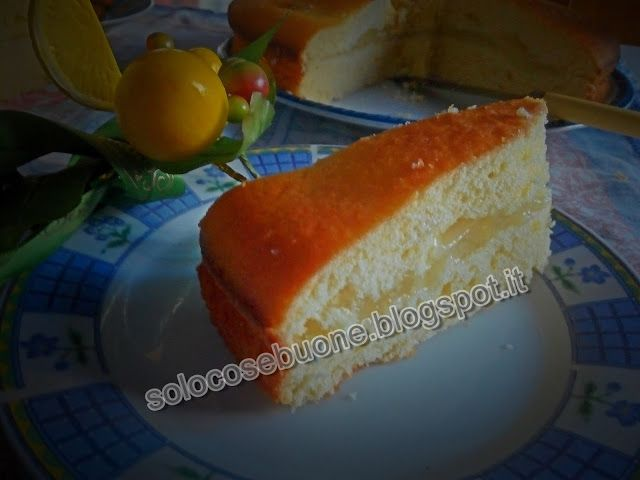 Ricette SoloCoseBuone  : Torta al limone farcita