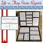 This Lift-a-Flap State Report is designed to engage kids in a straight-forward research project. Required research components include state symbols...