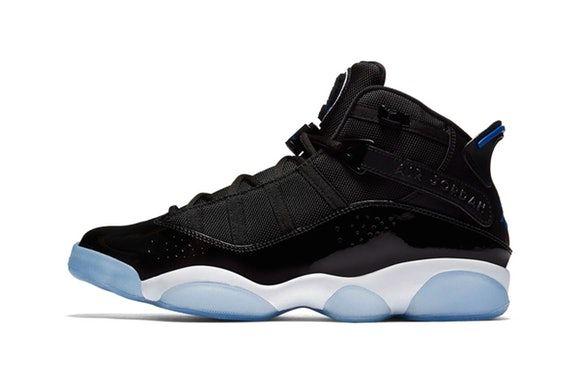 "separation shoes 5e6b9 009a0 ICYMI  The Air Jordan 6 Rings Silhouette Receives ""Black Hyper Royal"" Remake"