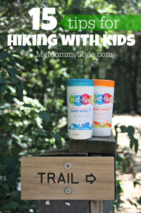 15 tips for hiking with kids. #showusyourmess #PMedia #ad