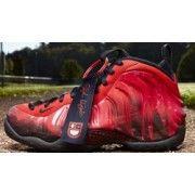 Nike Air Foamposite One Premium DB Challenge Red/Black $119.00  http://www.blackgoto.com