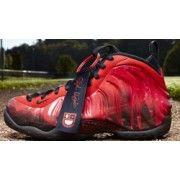 Nike Air Foamposite One Premium DB Challenge Red/Black $119.00 http://www.blackgoto.com/