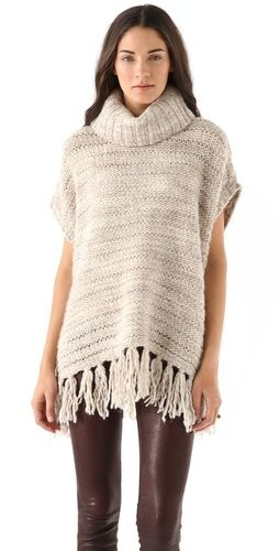 Love this laid back look!Sweaters Inspiration, Puree Dkny, Style Inspiration, Dkny Fringes, Sweaters Weather, Fringes Sweaters, Buy Dkny, Beige Puree, Dkny Puree