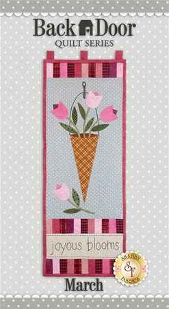 Back Door Wall Hanging Kit (Pre-fused & Laser Cut) - Joyous Blooms