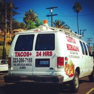 A 24-hour taco delivery service.   26 Things You Will Only See In Los Angeles