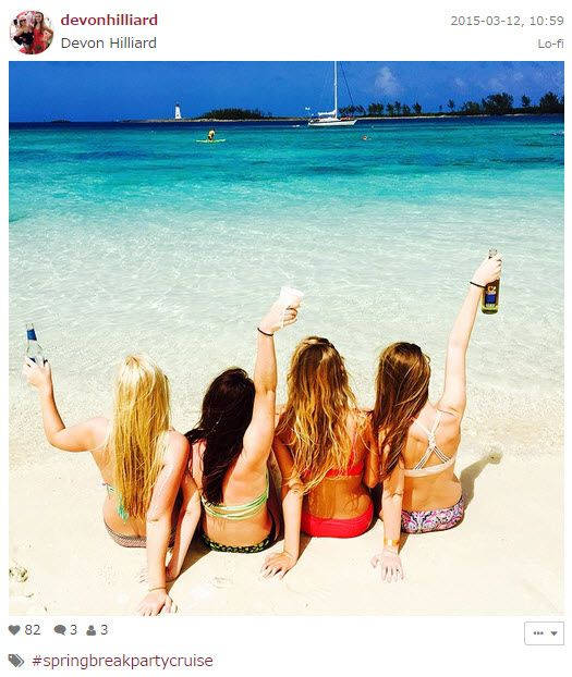 College Spring Break Cruise Photos and Go Pro Videos: Our 6th Annual Spring Break Cruise just returned with Photos and Video. http://cruisesource.us/2015/03/spring-break-party-cruise-videos-2015/