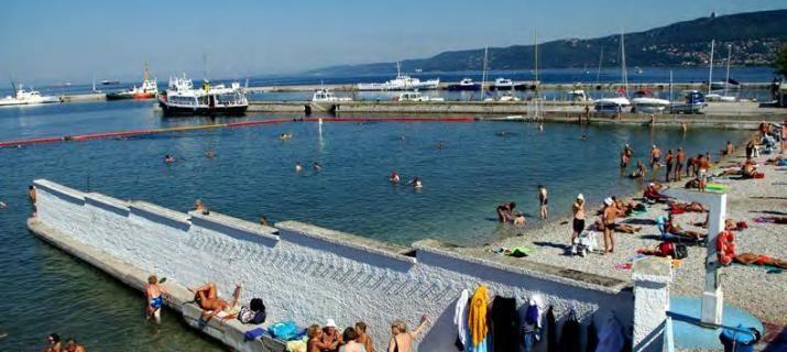 #Pedocin, stabilimento Balneare storico a #Trieste