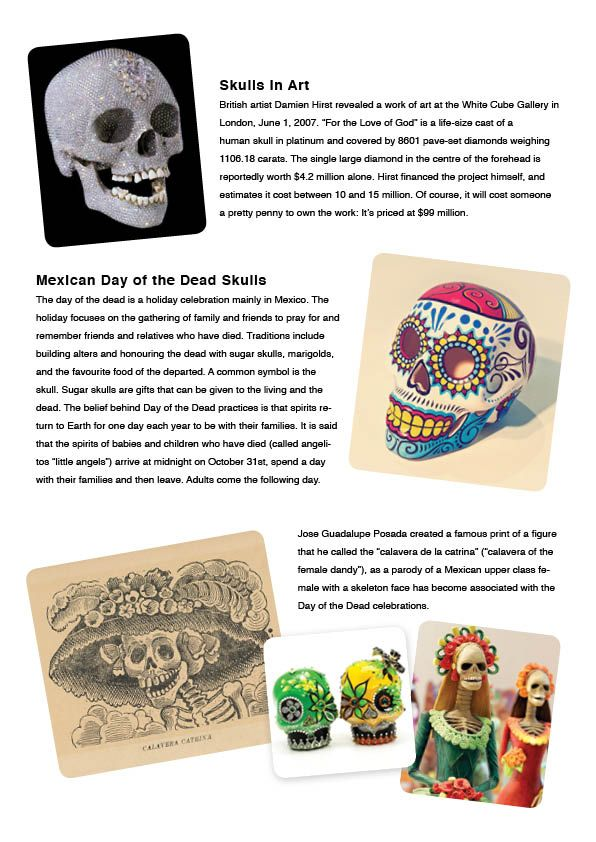 DAY OF THE DEAD INFO SHEET