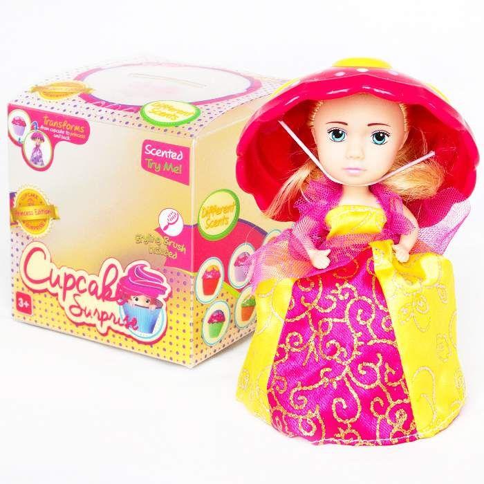 Кукла «CupCake» Мэри (желтое платье) + 2 заколочки в ПОДАРОК!