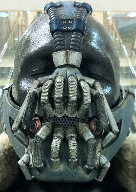 Bane Mask closeup
