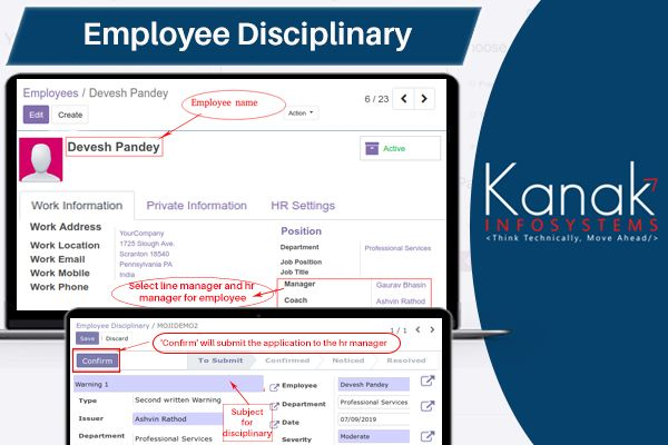 Employeedisciplinary As Its Name Suggests Is A Module To Allow Hr Managers To Raise Disciplinary Actions Against An Employee In App Hr Management How To Plan