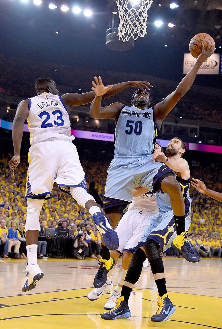 Zach Randolph and Draymond Green : Must-see NBA playoffs second-round photos
