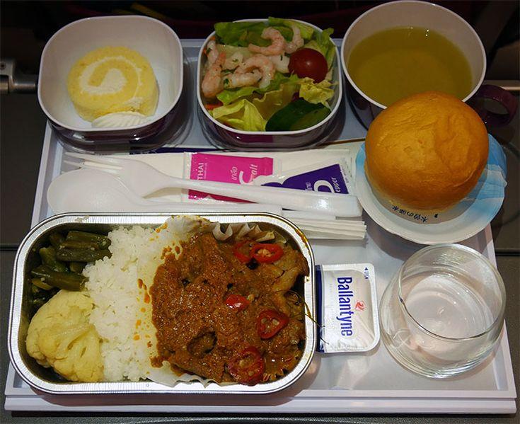 【機内食】タイ国際航空に乗ると激ウマ料理が食べまくれるぞ / お菓子→本格タイ料理→スイーツ→B級グルメ