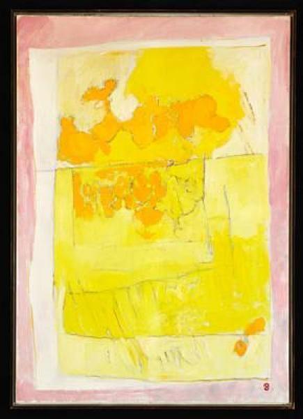 "Preben Hornung: ""Ludvigsminde"", 1985. Signed monogram. Oil on canvas. 112 x 79 cm., Peintures & Sculptures à Bruun Rasmussen Auctioneers   Auction.fr"