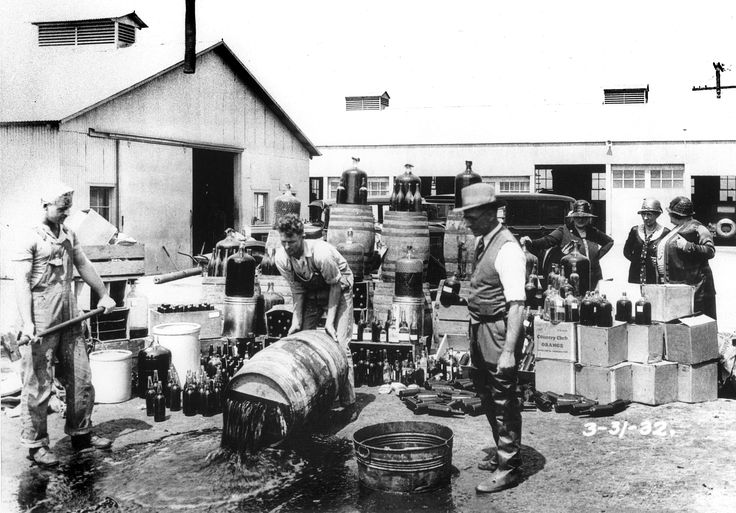 28 October 1919 Congress enforces prohibition Congress passes the Volstead Act over President Woodrow Wilson's veto. The Volstead Act provided for the enforcement of the 18th Amendment to the U.S. Constitution, also known as the Prohibition Amendment.