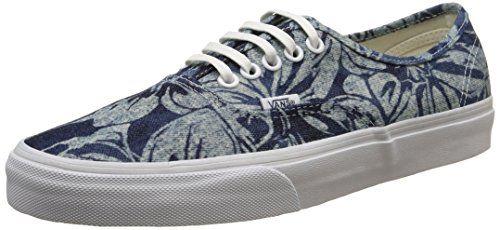 Vans Authentic, Unisex-Erwachsene Sneakers, Blau (indigo Tropical/blue/true White), 36 EU - http://on-line-kaufen.de/vans/36-eu-vans-authentic-unisex-erwachsene-sneakers-34