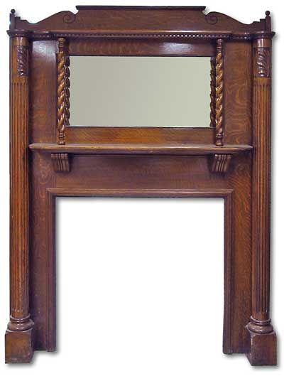 Fireplace Mantels | ... Edwardian Fireplace Mantel Fire Surrounds from Victorian Fireplace UK