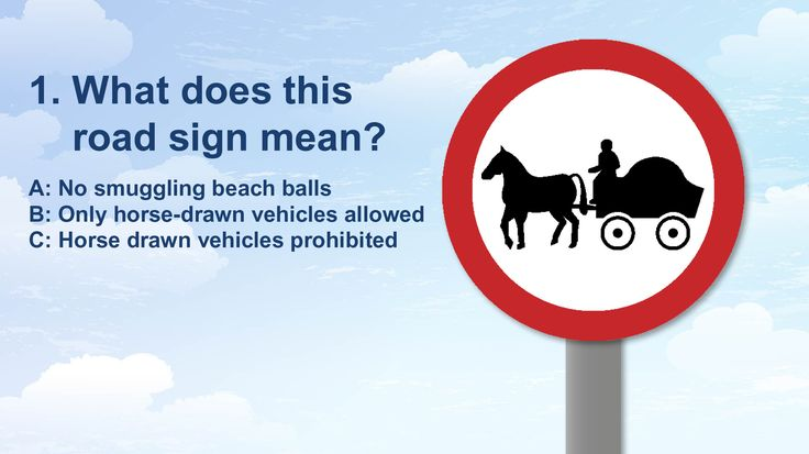 Seeing the signs: how well do you know the UK's road signs?