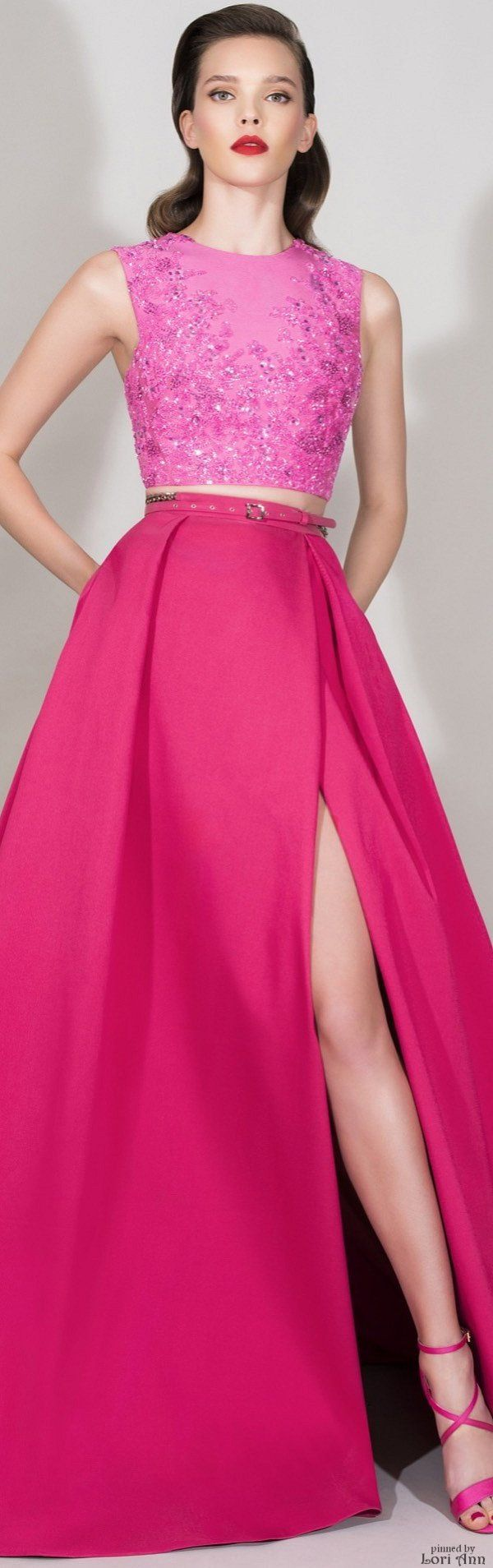 ➶ Bright Colors that Pop  {color pow}   Zuhair Murad Resort 2016.<3