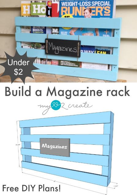 From My Love 2 CreateHow to build a Magazine Rack, or Piano Book Rack