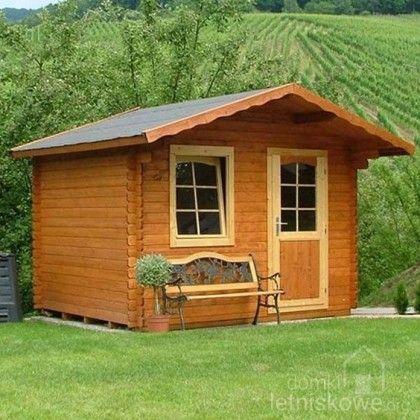 Drewniany domek narzędziowy (Wooden house) Monika D 10,4 m2