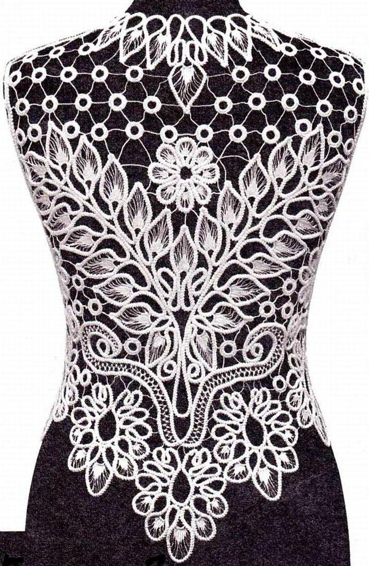 Romanian lace_back