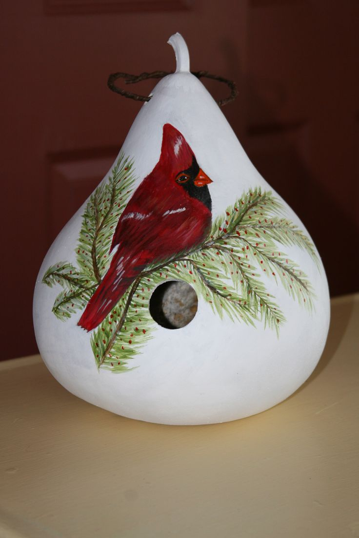 hand painted by Juddy - Seen on Etsy at awesomegourds shop