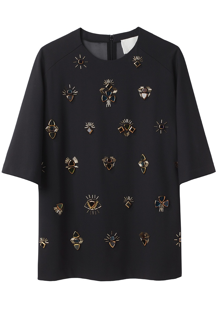 3.1 Phillip Lim / All Eyes On You Embroidered T-Shirt