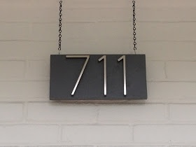 Mad for Mid-Century: DIY Mid-Century Modern House Numbers