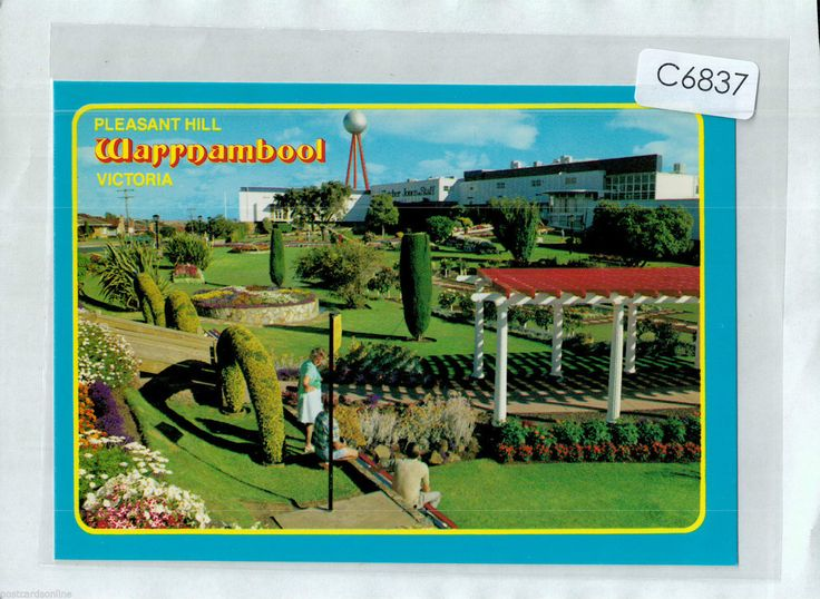 C6837ryt Australia V Warrnambool Fletcher Jones Garden postcard | eBay