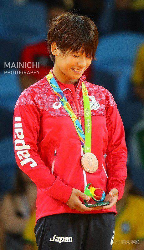 柔道女子48キロ級で近藤亜美が3位決定戦で優勢勝ちし、日本選手団では初のメダルとなる銅メダルを獲得しました。写真特集で。 #リオ五輪 #柔道