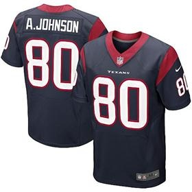 shop for official mens nike houston texans andre johnson elite team color navy blue jersey. get same day shipping at nfl houston texans team store.