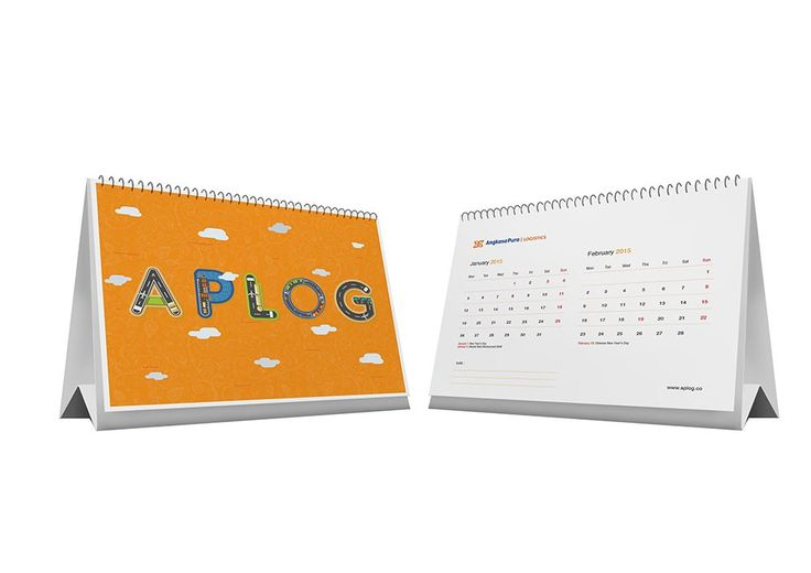 Desain Kalender: Dinding atau Meja